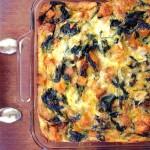 Kale and Sausage Breakfast Casserole