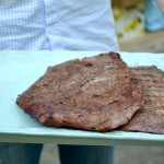 Flank Steaks Fresh Off The Grill