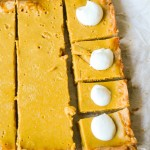 Tangy Pumpkin Bars