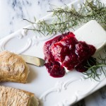 Chipotle Cranberry Sauce with Raspberry and Saison