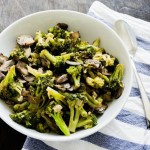 Sauteed Broccoli and Mushrooms