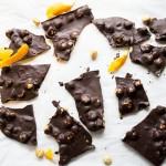 Orange Chocolate Hazelnut Bark